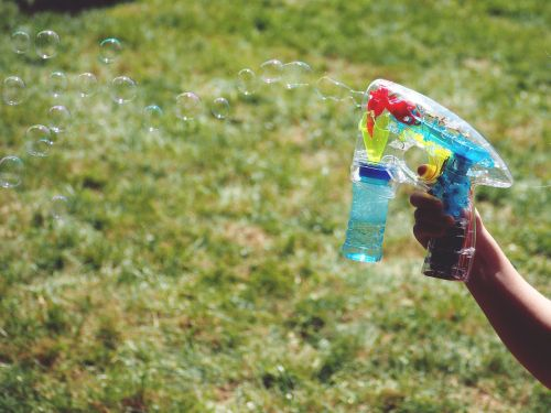 soap bubbles fun children