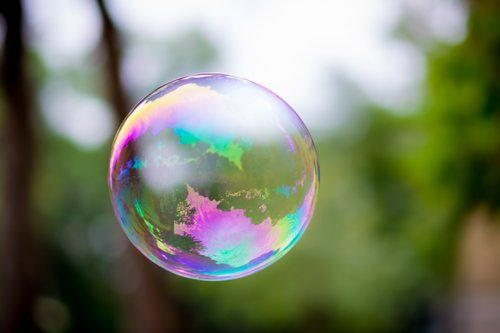 soap bubbles  balloons  seifenblase