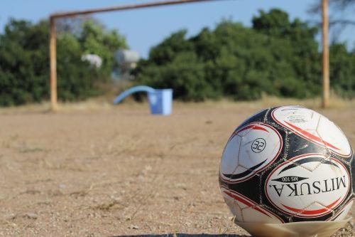 soccer football dirt soccer field