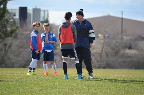 soccer coach football