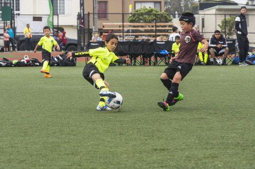 soccer dribble football