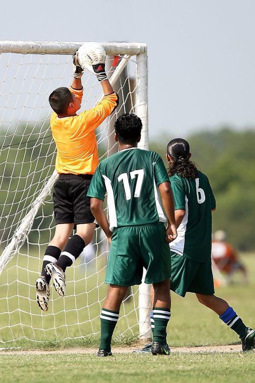 soccer goalie goal tender