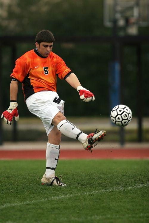 soccer football goalie
