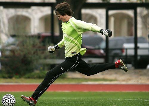 soccer goal keeper player