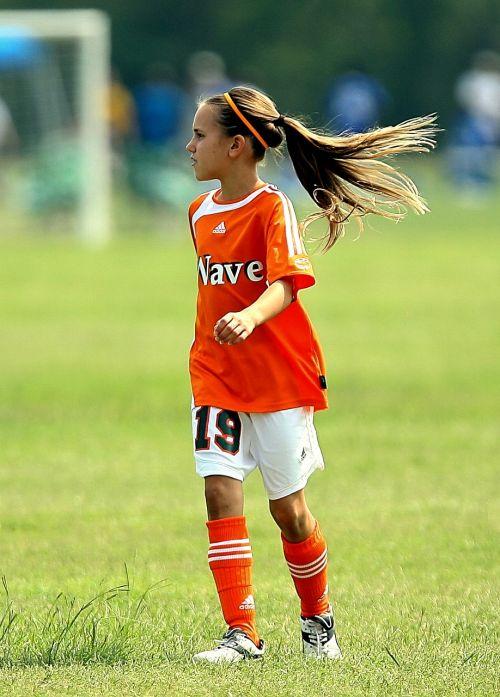 soccer player girl