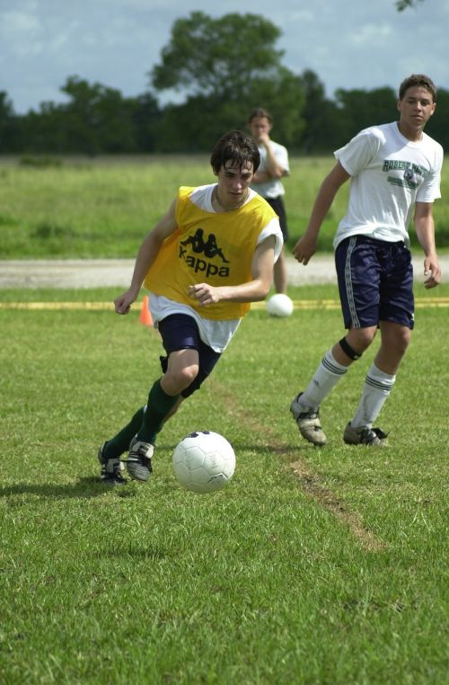 soccer scrimmage boys