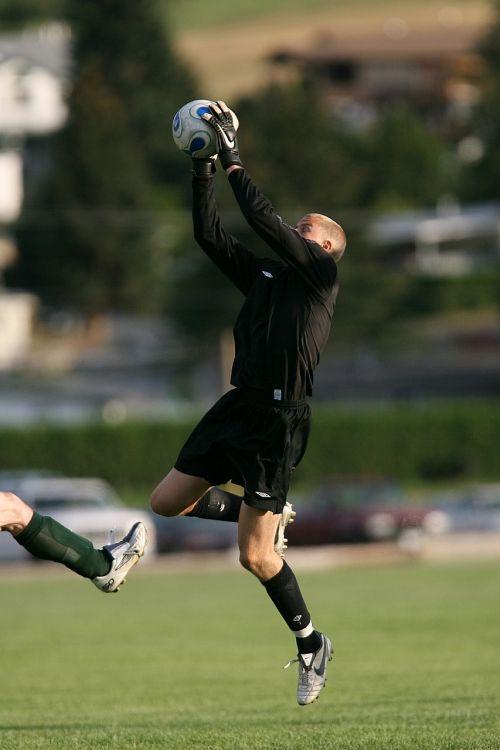 soccer goalie goal keeper