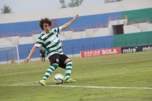 soccer playing soccer goal