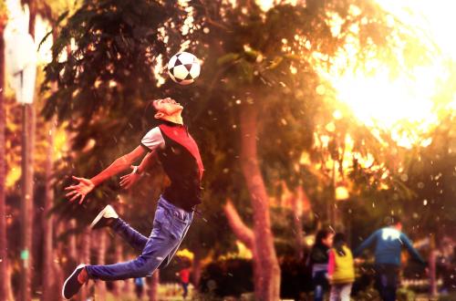 soccer ball football boy