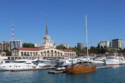 sochi  sea  yachts