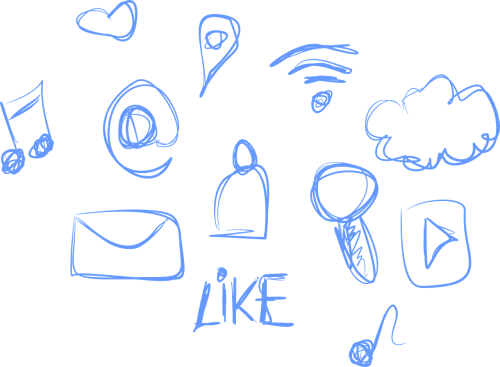 social social media media
