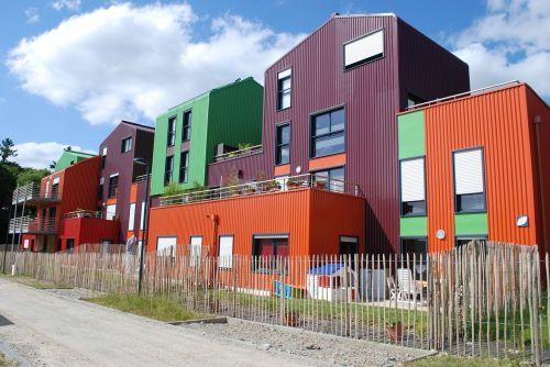 socialinis būstas,hlm,pastatas,naujas pastatas,orgères,organų žolės,butas