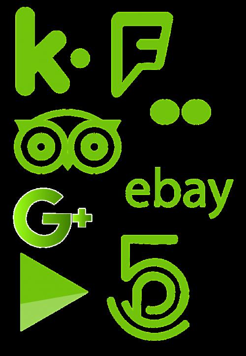 social icon icon website
