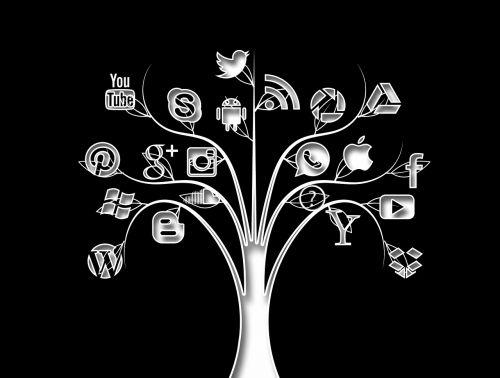 social media tree structure
