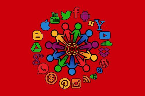 social media structure internet