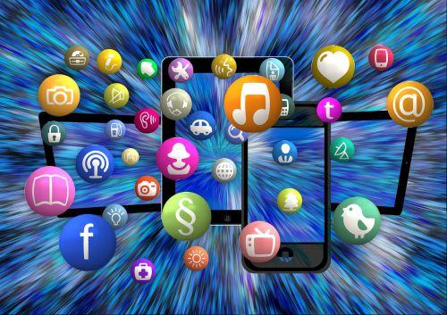 social media icon structure