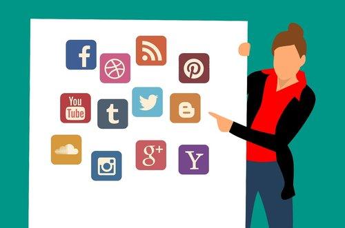 social media  twitter  google plus