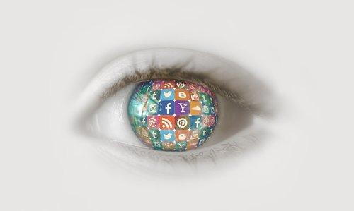 social media  eye  instagram