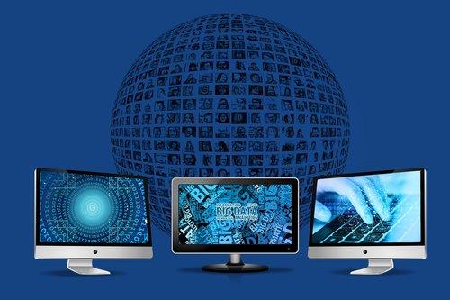 social media  network  monitors