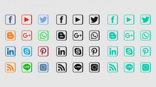 social media icon icon facebook icon
