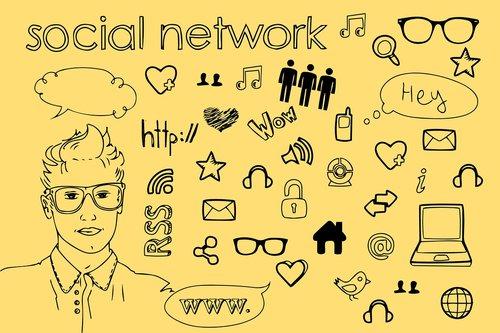 social network  media  friendship