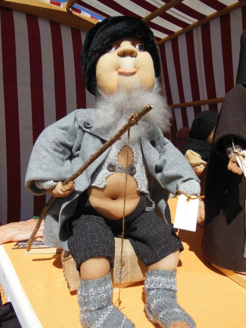 sock doll crafts old fisherman