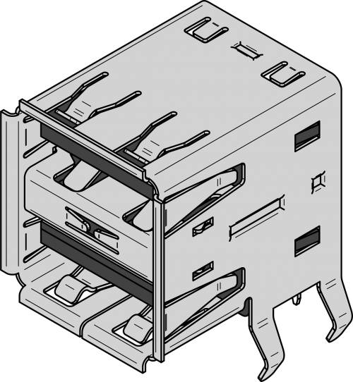 socket usb dual