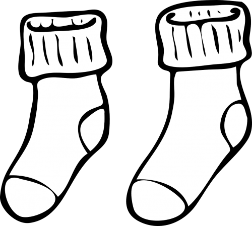 socks clothing set