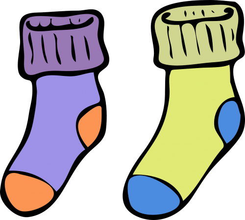 socks warm colorful