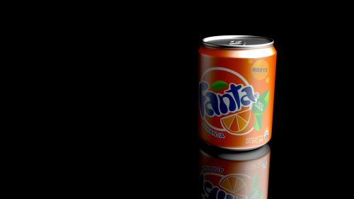 refreshments fanta render