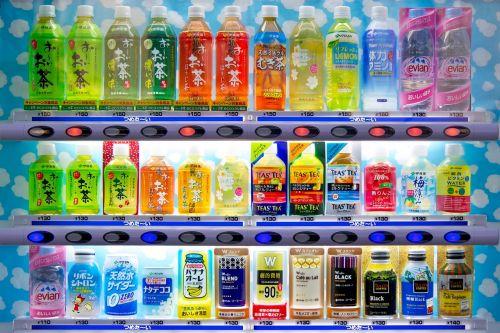 soda vending machine japan