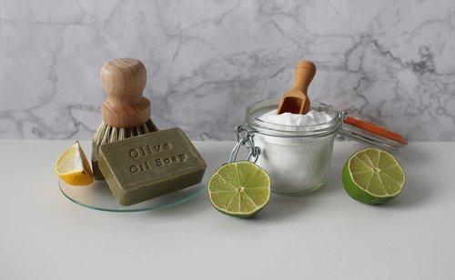 soda  lime  soap