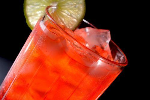 soda glass ice