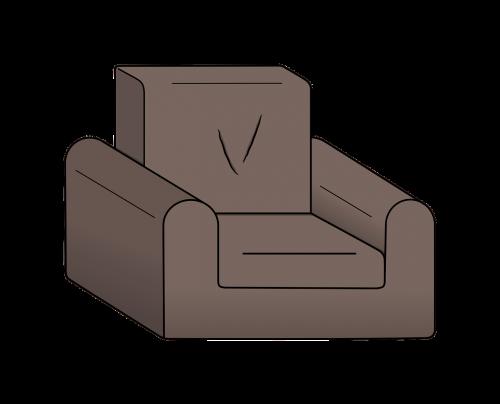 sofa cartoon sit