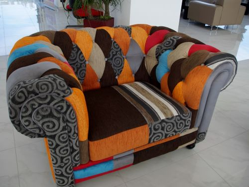 sofa colored convenient