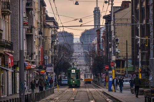 sofia  city  tramway