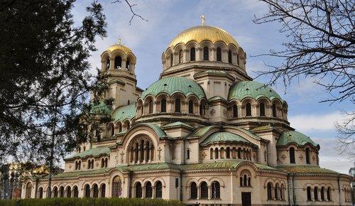 sofia  bulgaria  cathedral