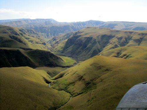 Soft Green Folds, Drakensberg