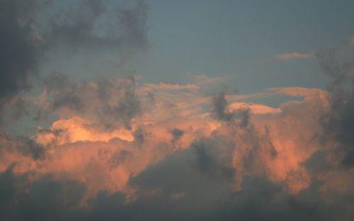 Soft Nuances In Pink Cloud