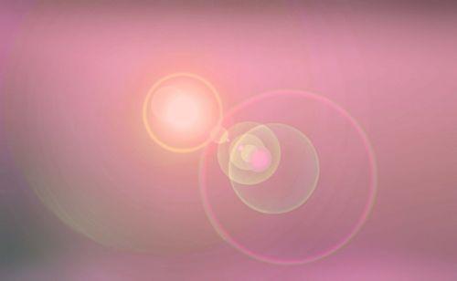Soft Rose Lens Flare