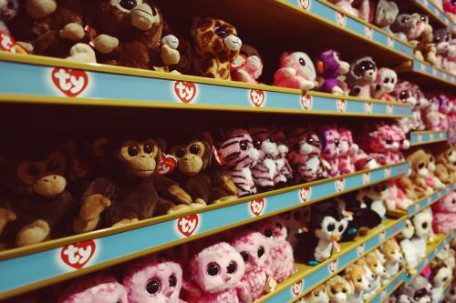 soft toy shelf toys