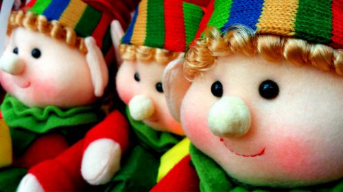 Soft Toy Elves