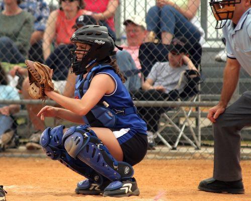 softball girls softball sport