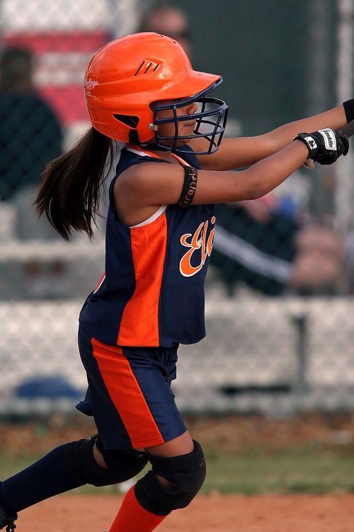 softball girls player