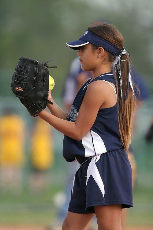 softball player pitcher