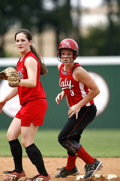 softball girls athlete