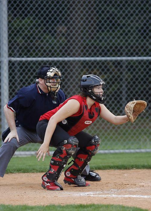 softball girl athlete
