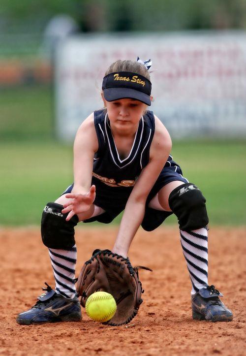 softball player girl