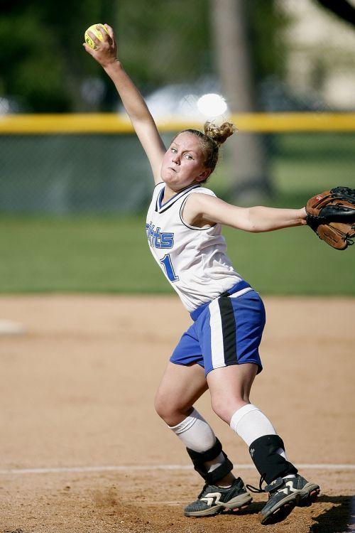 softball pitcher player