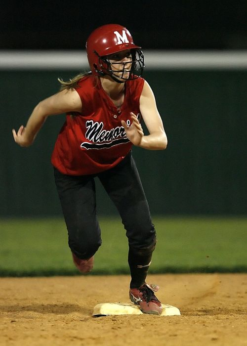 softball runner female
